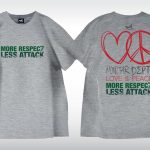 星滙網 Tee - More Respect, Less Attack