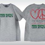 星滙網 Tee - More Respect, Less Attack