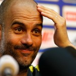 (SP)CHINA-BEIJING-SOCCER-ICC-MAN CITY-PRESS CONFERENCE (CN)
